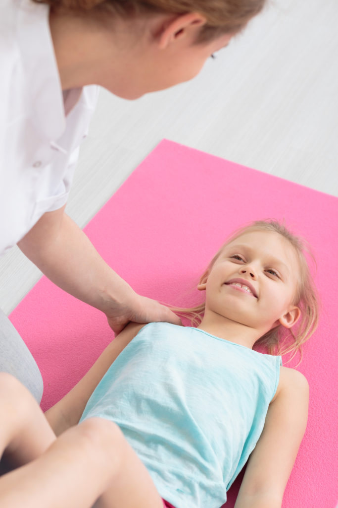 Our Physiotherapists have completed further training specific for children.