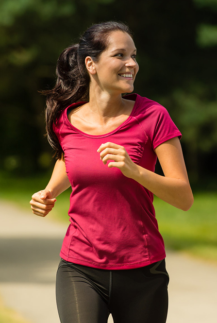Exercise promotes wellbeing by reducing stress and improving your mood